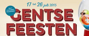 Gentse Feesten. 17 tot 26 juli 2015